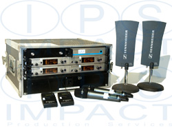 Sennheiser 4 Way Radio Mic Kit