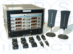 Sennheiser 8 Way Radio Mic Rack