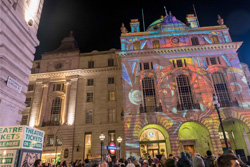 London Lumiere 01 Cafe Royal Voyages Projection
