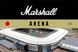Marshall Arena with venue pic