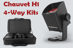 Chauvet 4 Way H1 Kits