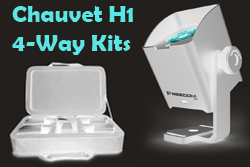 Chauvet 4 Way H1 Kits Inverted WHITE