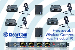Clear Com Freespeak II Wireless Comms