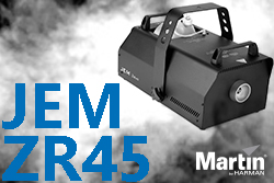 Jem ZR45 Fog Machine Stock Increase