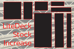 LiteDeck Stock Increase Summer 2018