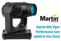 Martin MAC Viper Performance added to hire stock