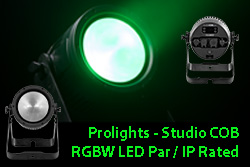 Prolights - Studio COB RGBW LED Par