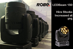 ROBE LEDBeam150 Stock Increase