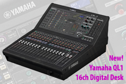 Yamaha QL1 Desk - New